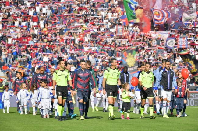 Image result for photos of bologna vs sampdoria""