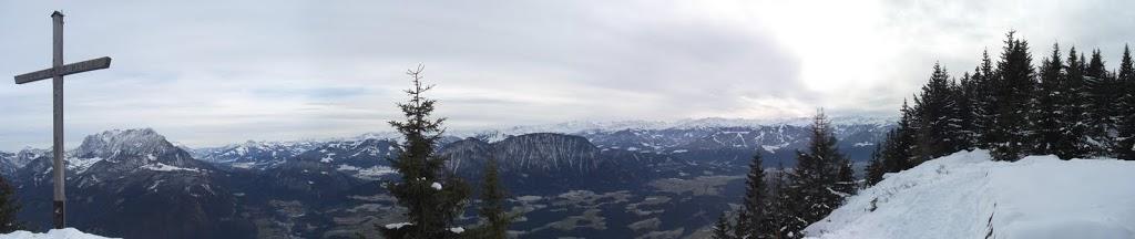 Winterpanorama vom Pendling