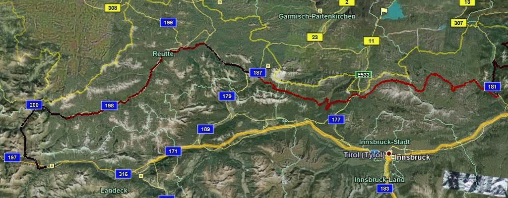 Quer durch Tirol, der Plan steht!