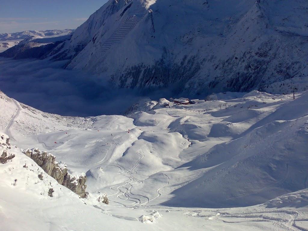 Perfekter Tag am Hintertuxer Gletscher