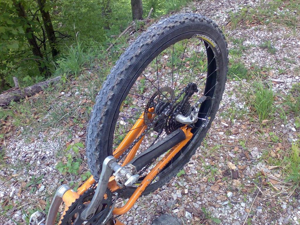 Es könnte das Ende meiner heutigen Radtour sein!