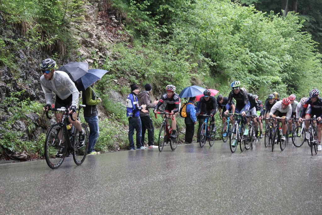 Bayernrundfahrt 2014 – Auffahrt zur Winkelmoos-Alm