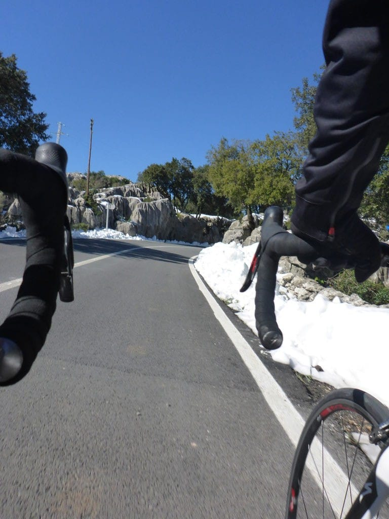 Streckenzustandsinfo – Col de sa Batalla und Col de Femenia