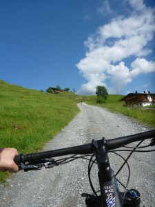 Kurz vor dem Ziel dem Gaisberg habe ich mich verfahren...