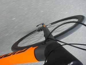 Schwarz/Orange matt und schön