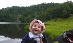 Familienwanderung – Taubensee bei Kössen