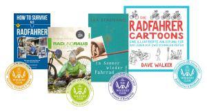 Die Fahrradbücher der Saison 2017 – Geschenke für Kurzentschlossene