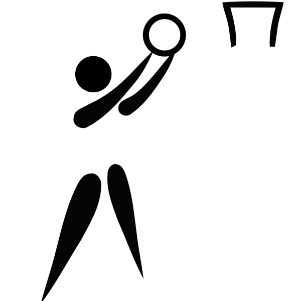1024px Netball pictogram svg - A Wheeler