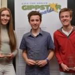 East Gippsland athletes Abbey Murphy Shaw, Ben Burchell and George Lancaster.