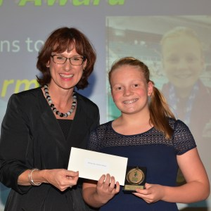 Rising Star Winner with MP for Eastern Victoria Melina Bath