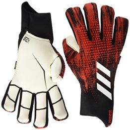 adidas Unisex-Adult Pred Gl Pro Fs Glove Liners, Black/Active Red, 10 - 1