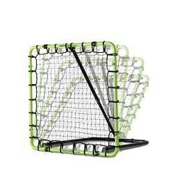 EXIT Fußball Rebounder Tempo - Grün/Schwarz - Fußball Trainingszubehör - Verstellbar in 7 Stufen (100 x 100 cm) - 1