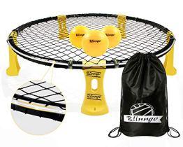 Mookis Blinngoball Outdoor Spieleset Team Games Set bestehend aus Spielnetz, 3 Bällen, Kordelzug, Lichtleiste, Ballpumpe mit 1 Nadel und Handbuch - 1