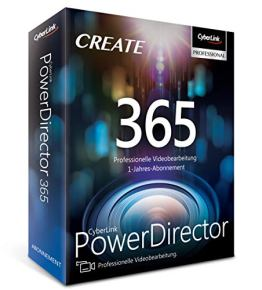 CyberLink PowerDirector 365 / 12 Monate - 1