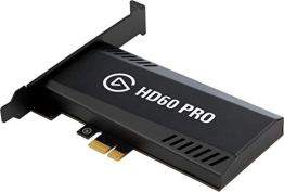 Elgato Game Capture HD60 Pro, Streamen und aufnehmen (in 1080P 60FPS Capture, PCI x 1 (Intern), Instant Gameview mit überlegener Low-Latency-Technologie, H.264 Hardware-Encoding, PCIe) - 1