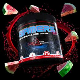 GAMERS ONLY RED Funky Watermelon, 400 g (80 Portionen) - 1