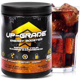 UP-GRADE - Energy Drink Pulver - Koffein Pulver für mehr Konzentration im e-Sport - 600 g 60 Servings (Cola) - 1