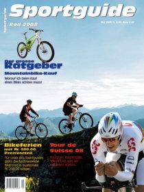 Sportguide Rad 08, Cover