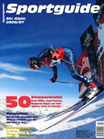 Sportguide Ski Alpin 2006/07, Cover