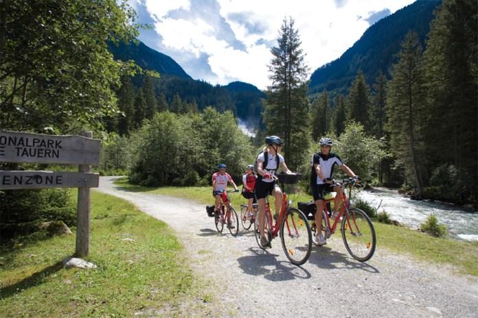Tauernradweg Salzburgerland: Die Tour führt durch den Nationalpark Hohe Tauern.