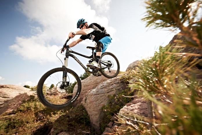 Biker im Val di Fiemme