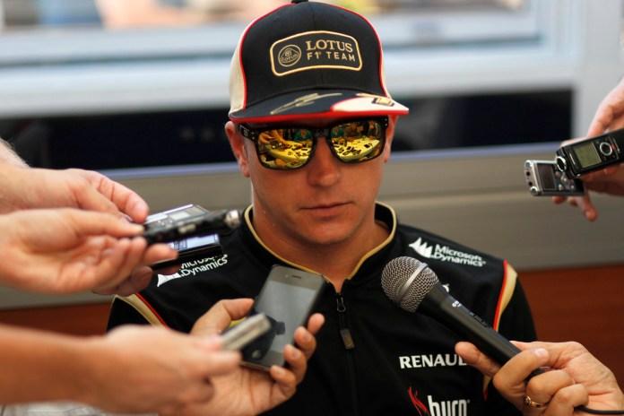Formel 1 - Grosser Preis von Belgien: Kimi Raikkönen im Interview