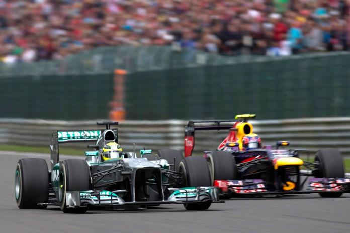 Formel1 - Grosser Preis von Belgien: Hamilton vor Vettel