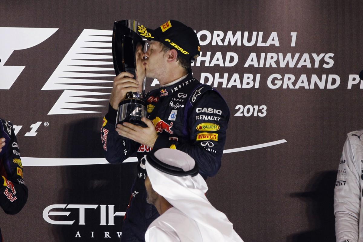 Formel 1 - Grosser Preis von Abu Dhabi 2013, Podest