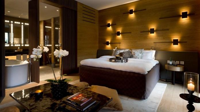 The Chedi Andermatt, Suite Schlafbereich