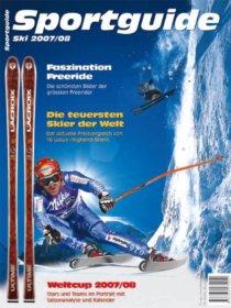 Sportguide Ski 2007/08, Cover