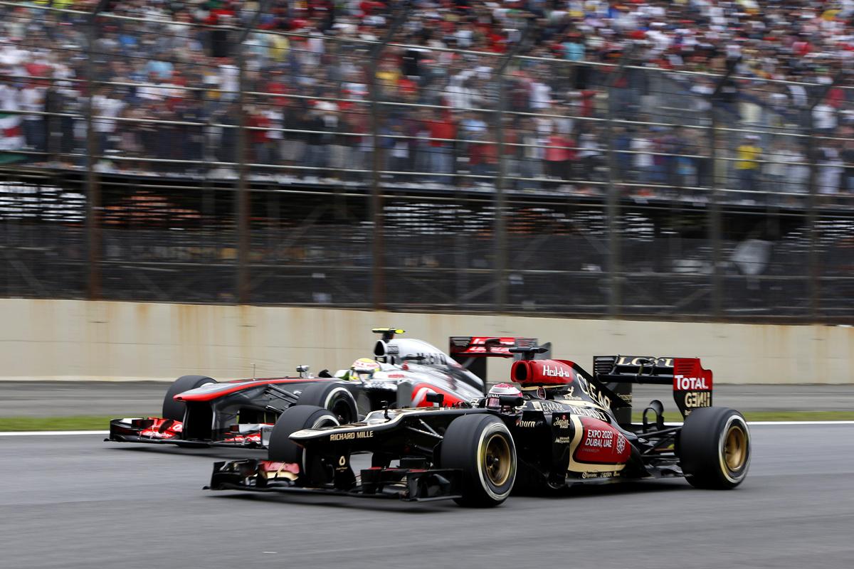 Formel 1 - GP Brasilien 2013, Lotus Kovalainen