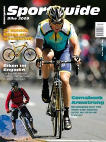 Sportguide Bike März 2009, Cover