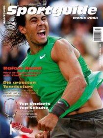 Sportguide Tennis 2008, Cover
