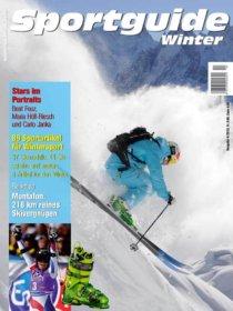 Sportguide Winter 1/2013, Cover