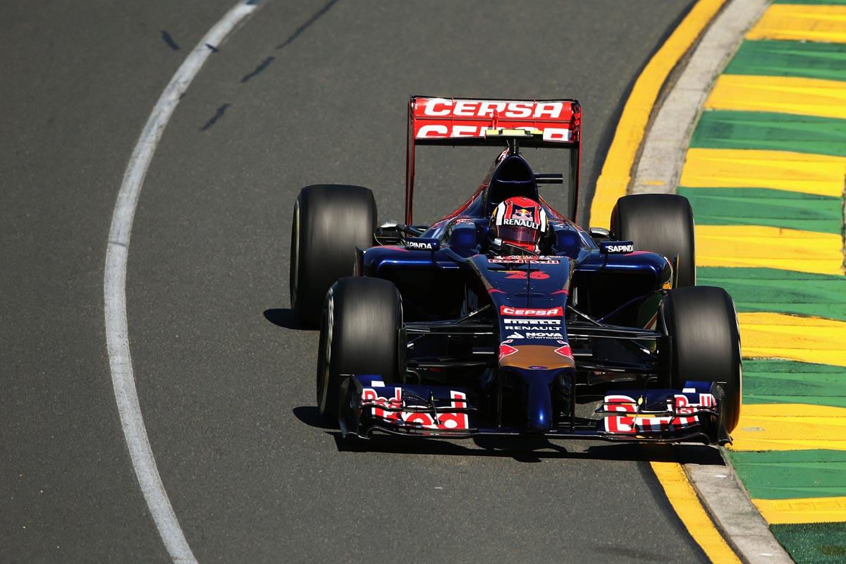 Daniil Kvyat auf Torro Rosso, GP Australien 2014
