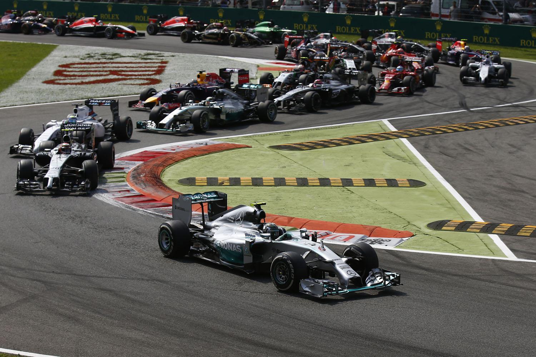 Formel 1 - GP Italien 2014, Start