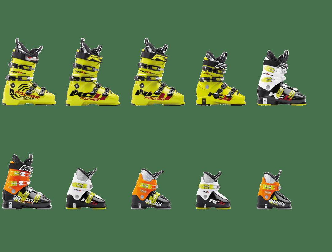 Fischer-Junior-Skischuhe