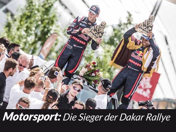 Dakar-Rallye-Sieger