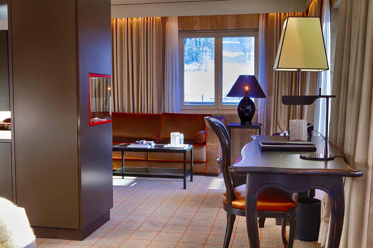 Hotel Grischa, Zimmer/Suite