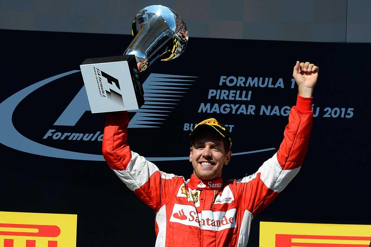 GP-Ungarn2015-Ferrari-Vettel-Sieg