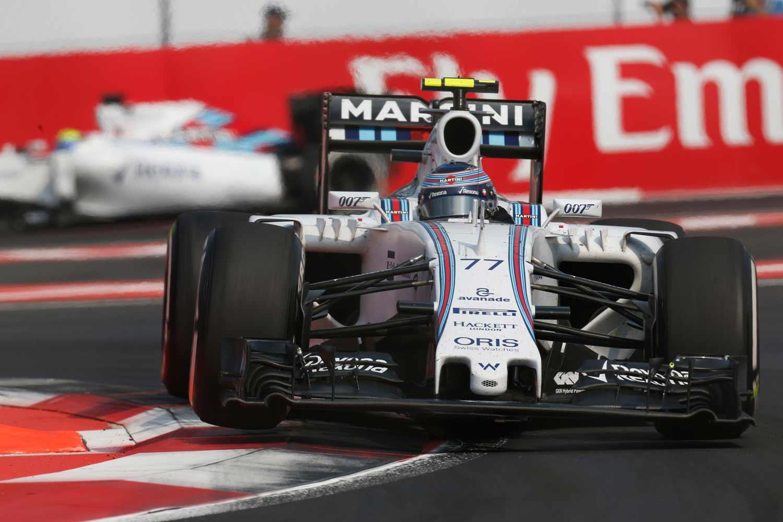 F1-Mexiko-Bottas-on-track