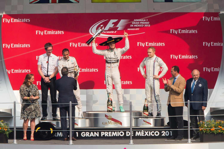 F1-Mexiko-Podest