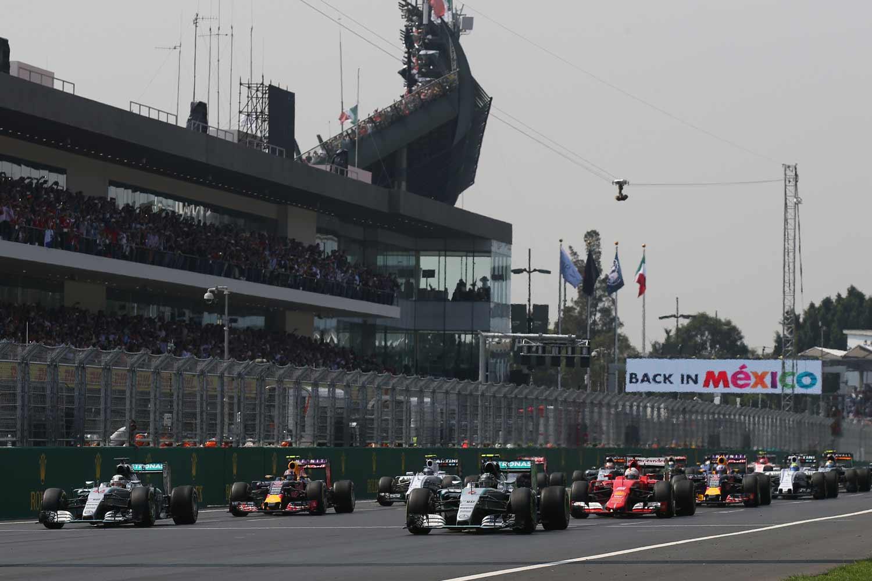 F1-Mexiko-Start