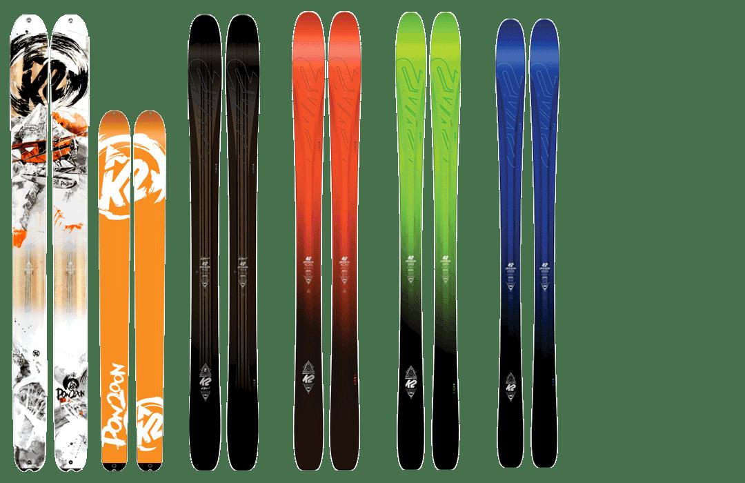 Bild K2 Palette Freeride Pinnacle 2017