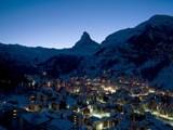 bild_zermatt_dorf_abend_winter