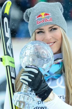 Lindsey Vonn Weltcuppokal