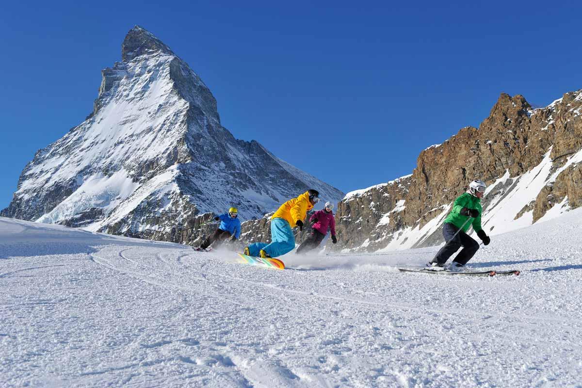 Bild12 Schneemangel Zermatt, 2016/17