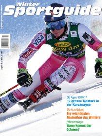 Sportguide Winter, 5/2016, Cover