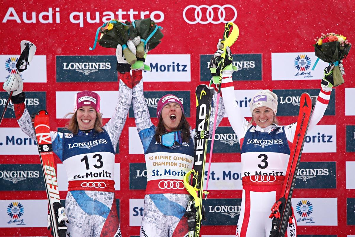 Ski-WM-2017-alpineKombination-Damen-Podest