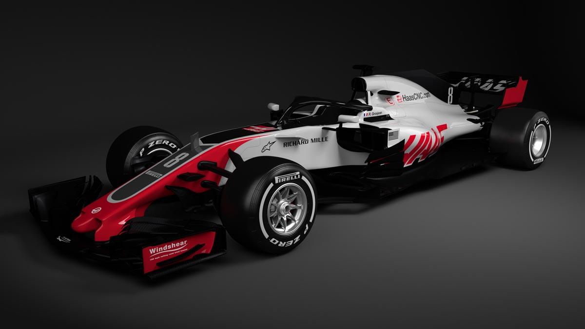 Haas-F1_VF18_THREE_QUARTER_FRONT-web
